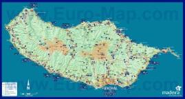 Туристическая карта Мадейры