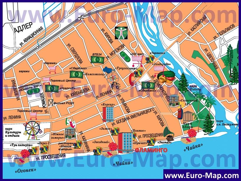 Карта Казани С Номерами Домов