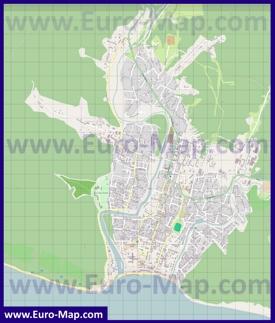 Подробная карта Архипо-Осиповки