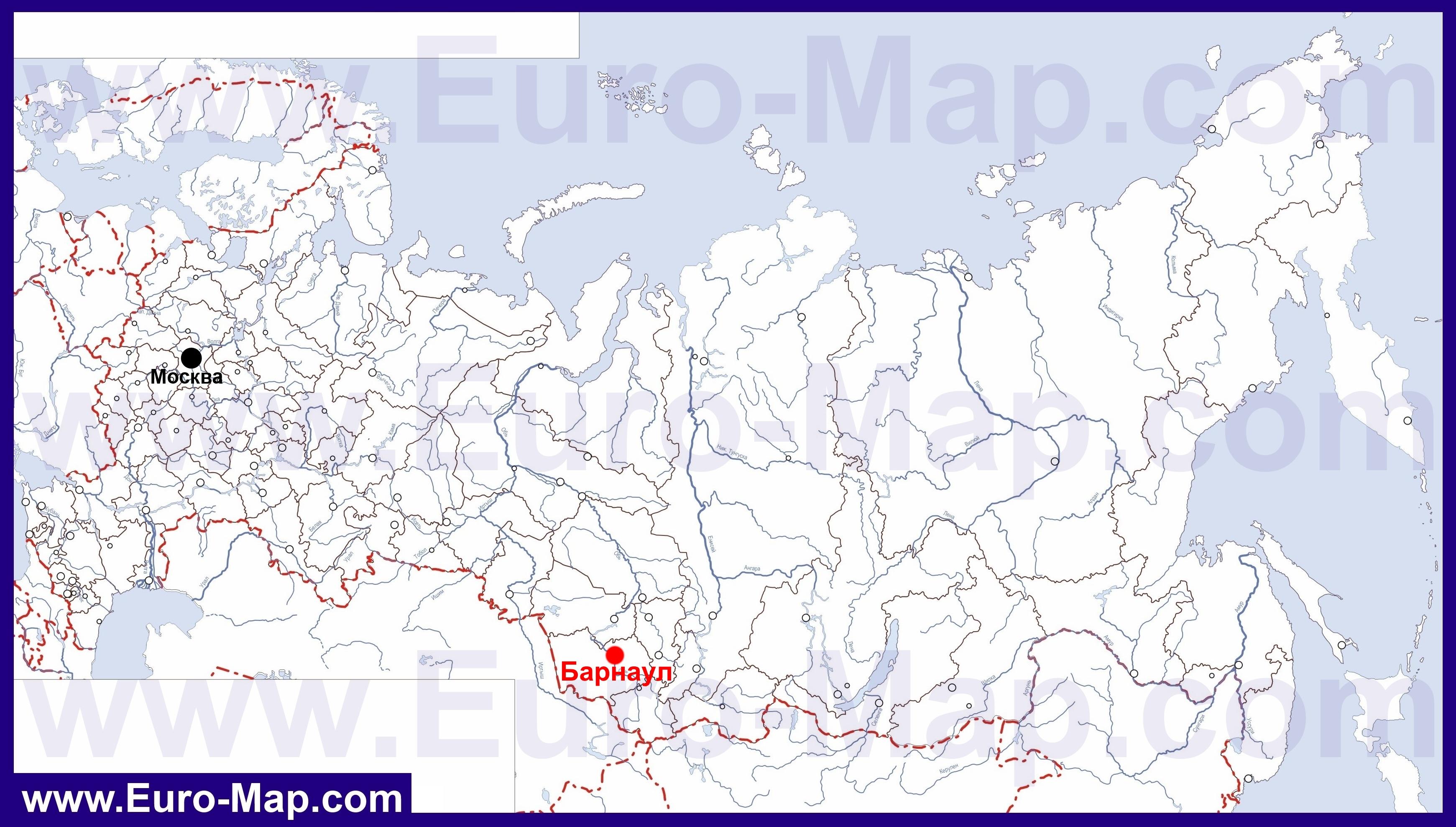 Где находится алтай на карте мира