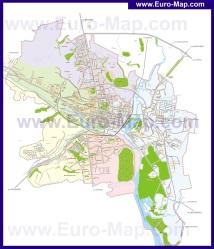 Подробная карта города Белгород