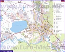 Подробная карта города Чита