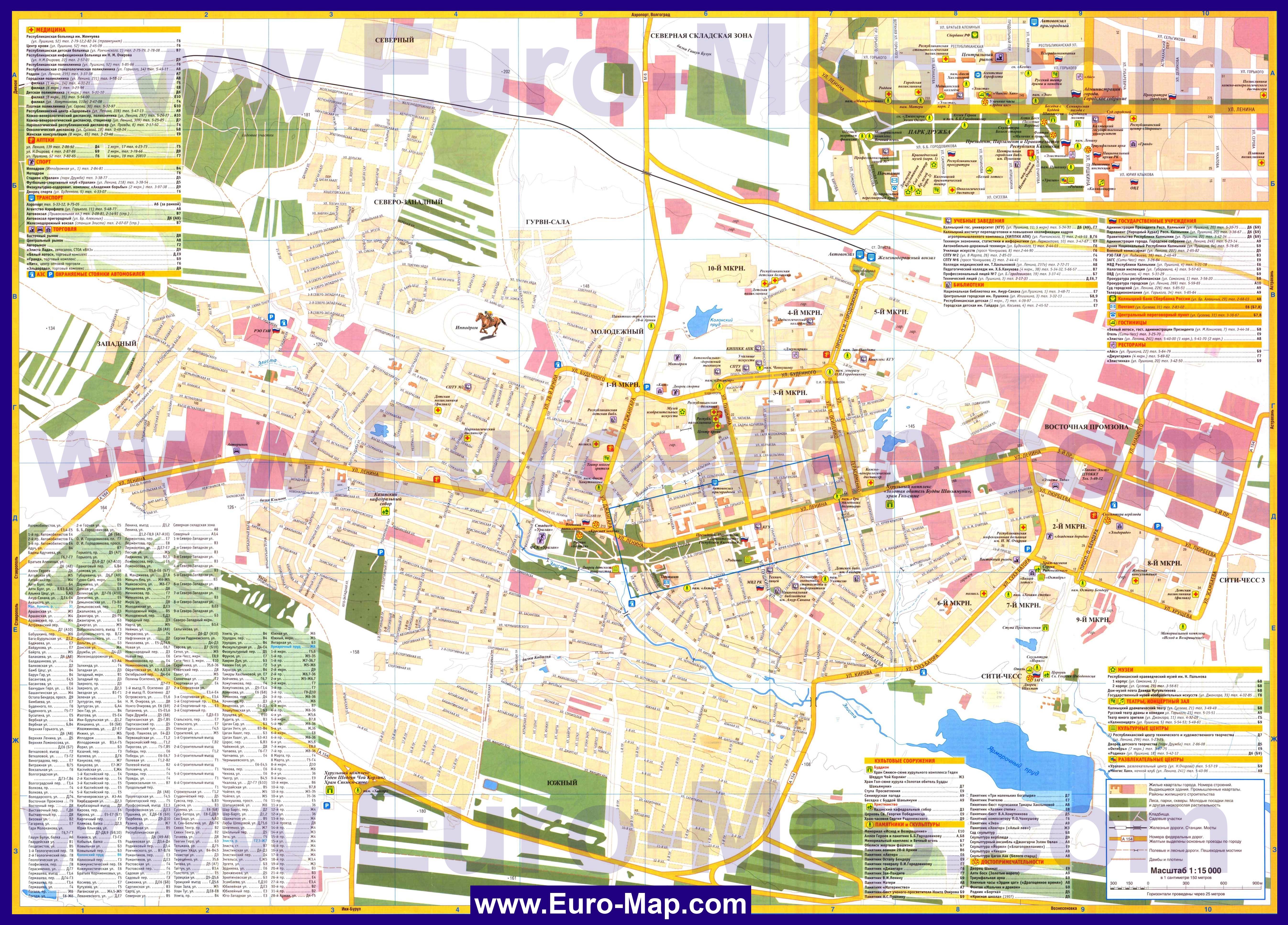 Карта России. Урал. Карта Западная Сибирь. Как проехать от ...