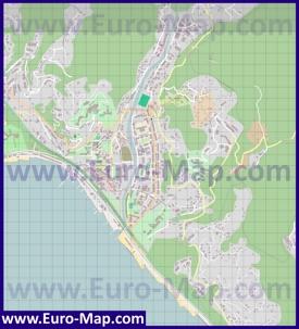 Подробная карта Хосты