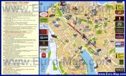 Туристическая карта Казани