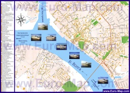 Подробная карта города Кострома