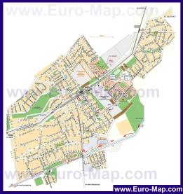 Подробная карта города Апрелевка