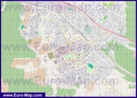 Подробная карта города Дедовск