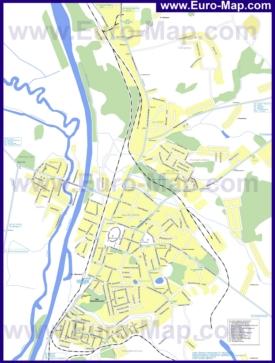 Карта маршрутов транспорта Дмитрова