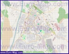 Подробная карта города Дмитров