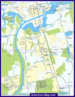 Карта маршрутов транспорта Долгопрудного