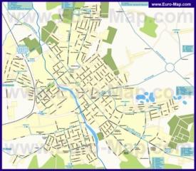 Карта маршрутов транспорта Егорьевска