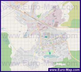 Подробная карта города Электроугли