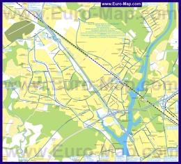 Карта маршрутов транспорта Химок