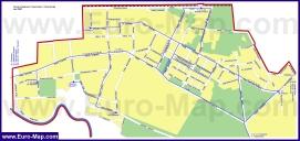 Карта маршрутов транспорта Жуковского