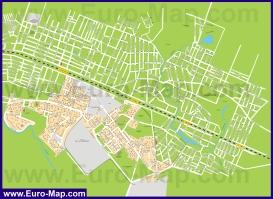 Подробная карта города Жуковский