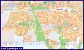 Подробная карта города Королёв