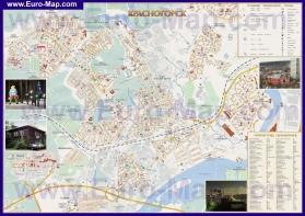 Подробная карта города Красногорск