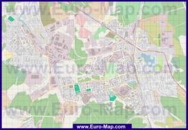 Подробная карта города Лобня