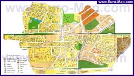 Подробная карта города Люберцы