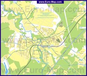 Карта маршрутов транспорта Наро-Фоминска