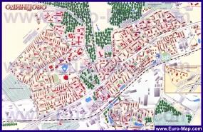 Подробная карта города Одинцово