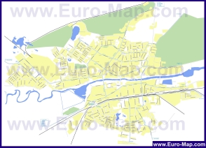 Карта маршрутов транспорта Орехово-Зуево