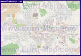Подробная карта города Павловский Посад