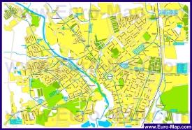 Карта маршрутов транспорта Серпухова