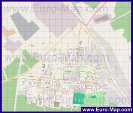 Подробная карта города Ступино