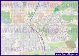 Подробная карта города Видное
