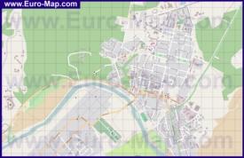 Подробная карта города Звенигород