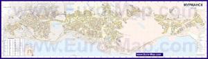 Подробная карта города Мурманск
