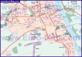 Автомобильная карта дорог Мурома