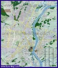 Подробная карта города Великий Новгород