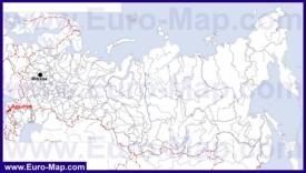 Адыгея на карте России