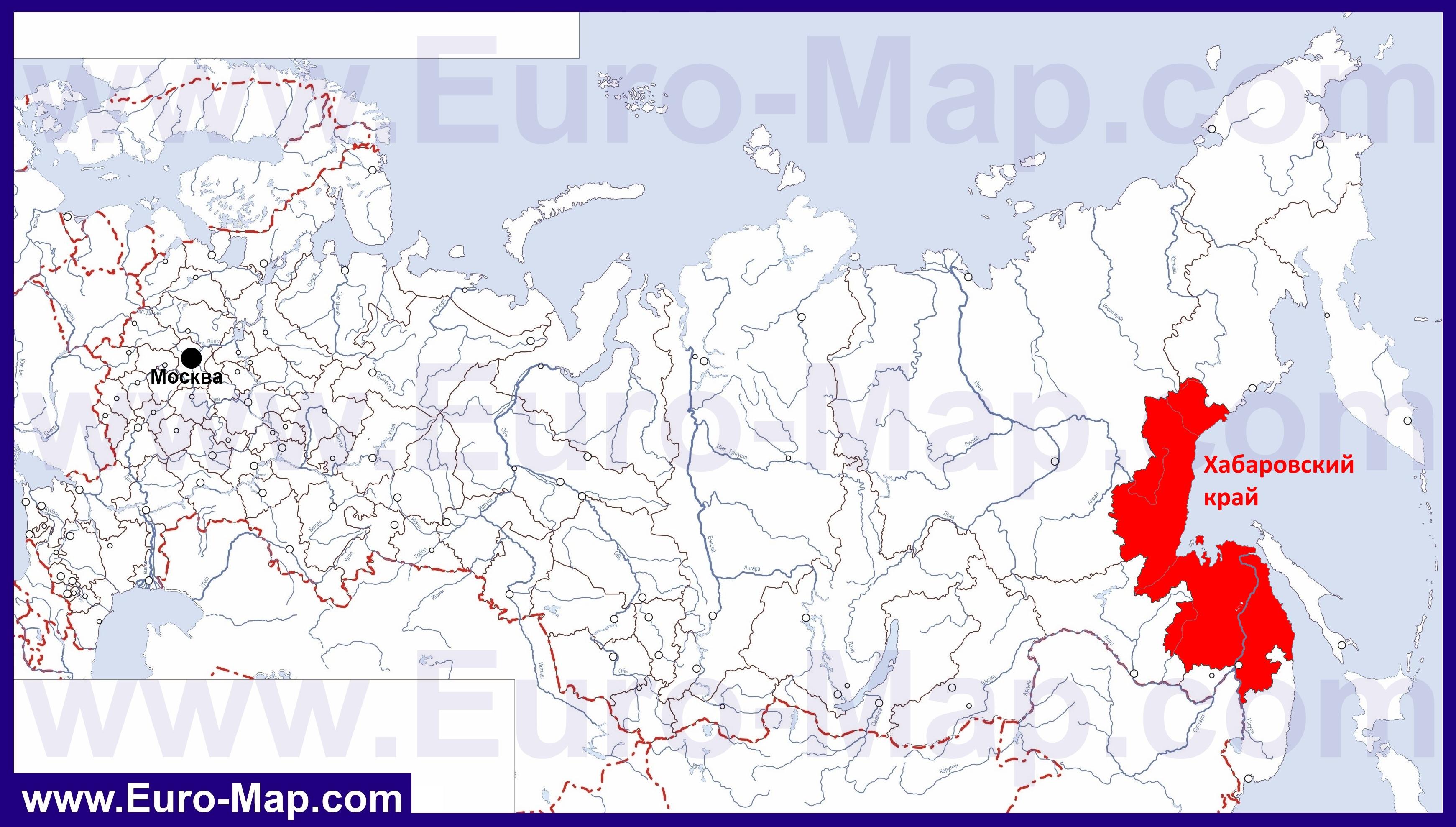 Карты Хабаровского края | Подробная карта Хабаровского ... Административная Карта Молдавии