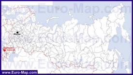 Карачаево-Черкесия на карте России