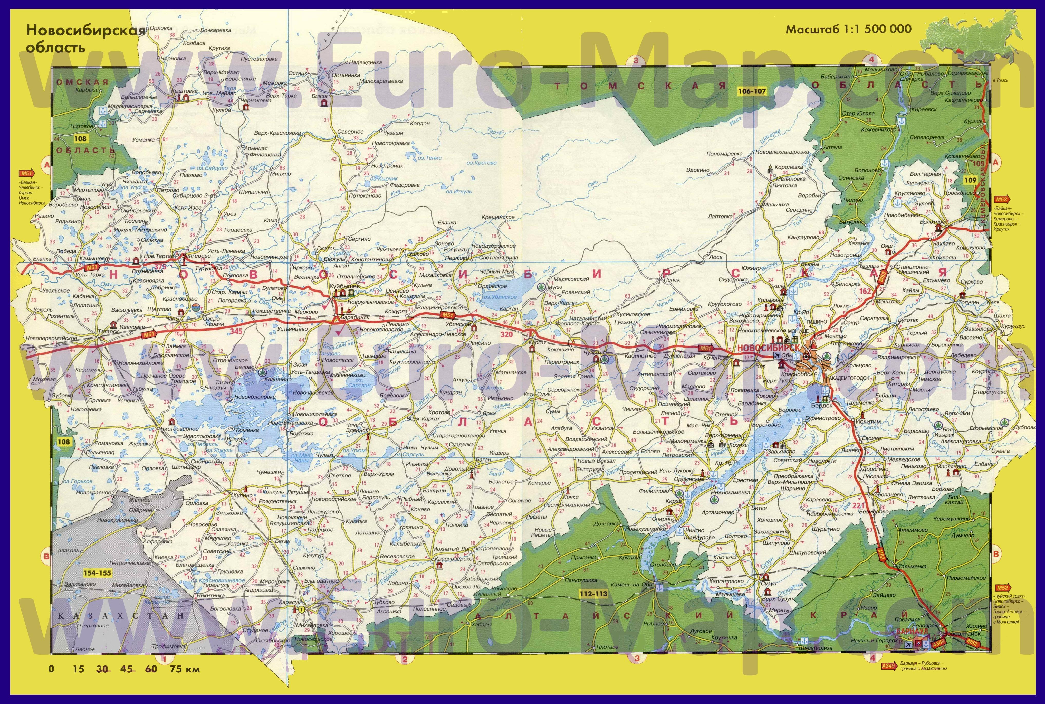 Карты Новосибирской области | Подробная топографическая ... Административная Карта Молдавии