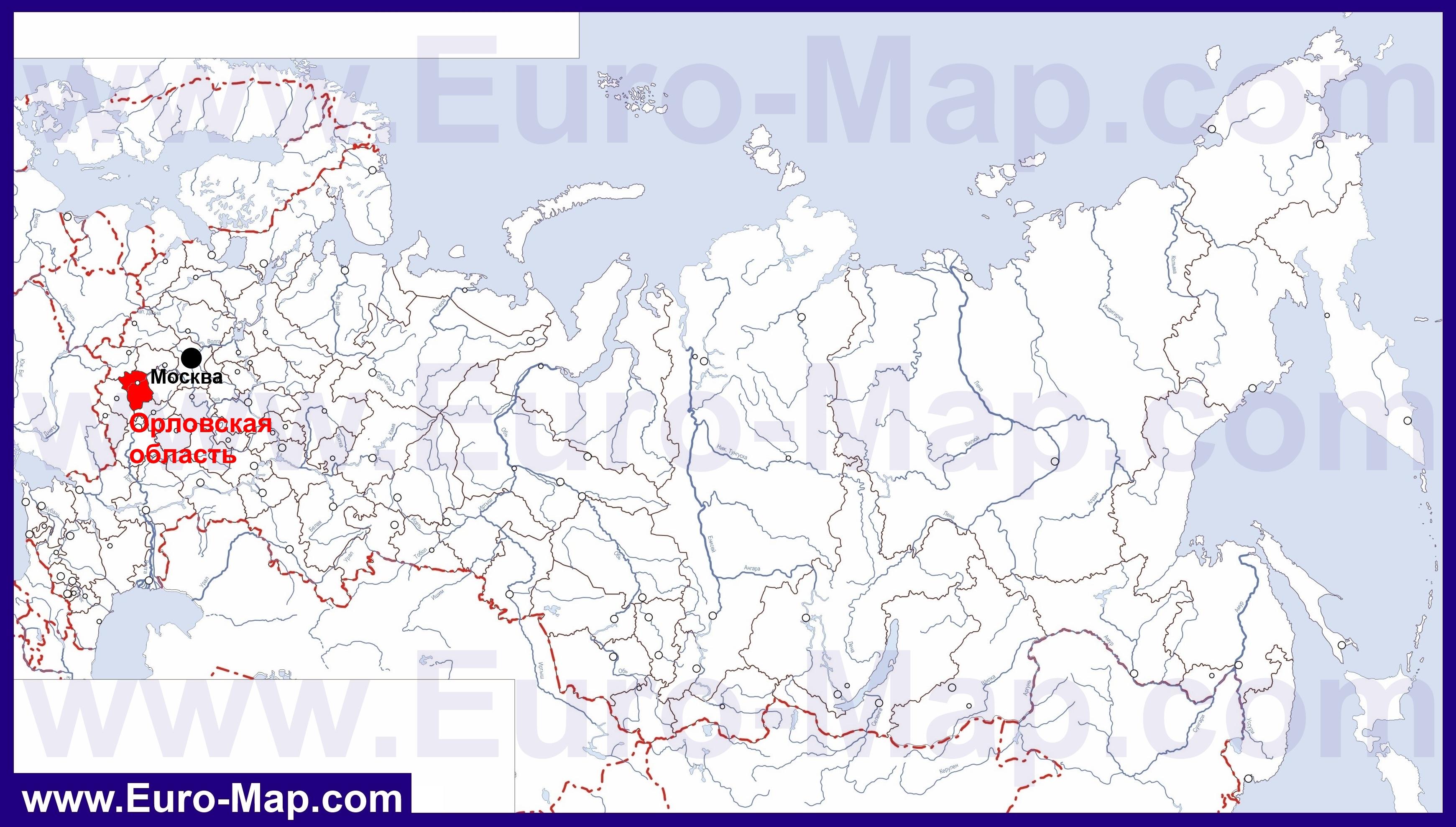 фото орловская область