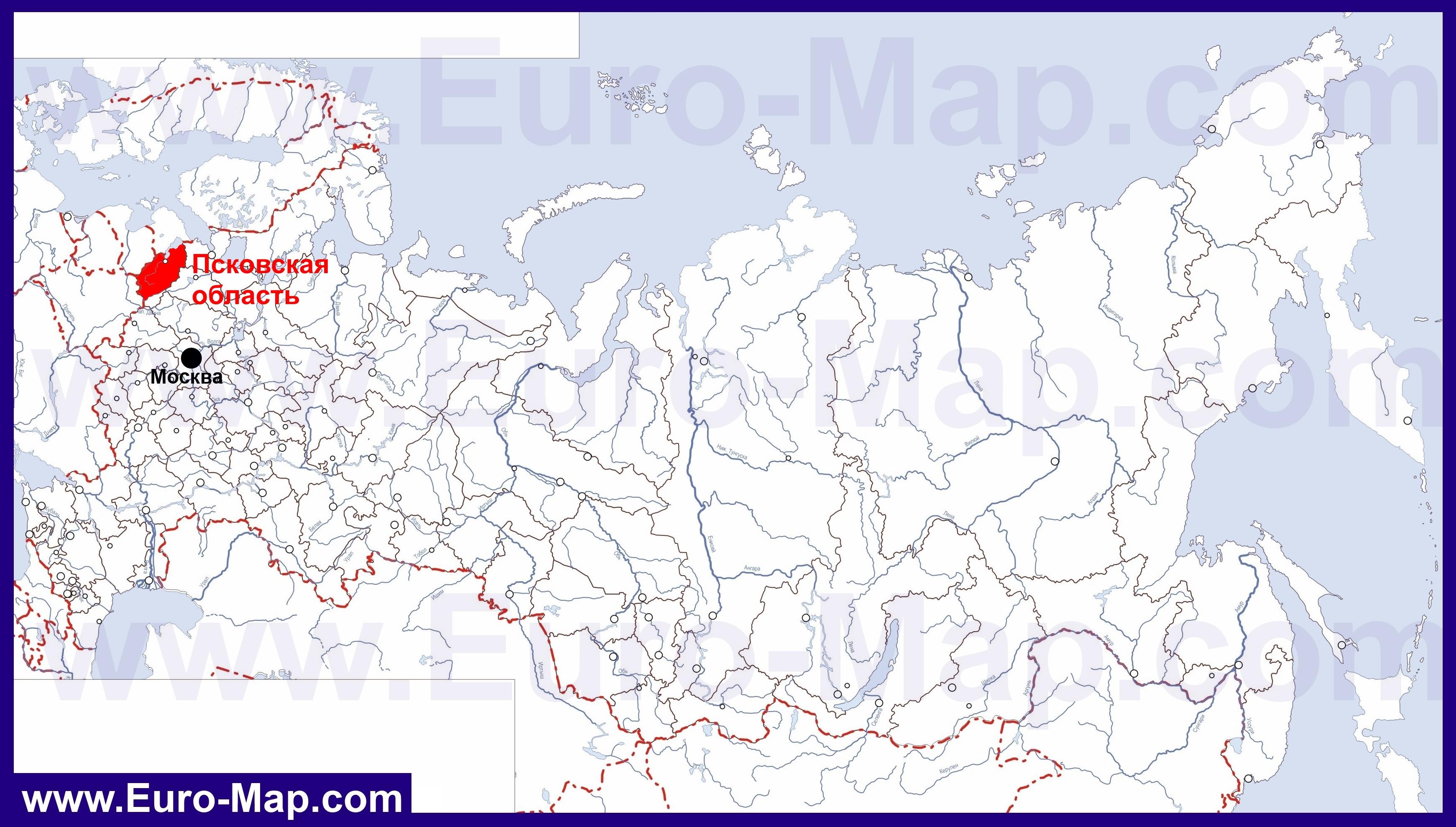 Карты Псковской области | Подробная карта Псковской ... Административная Карта Молдавии