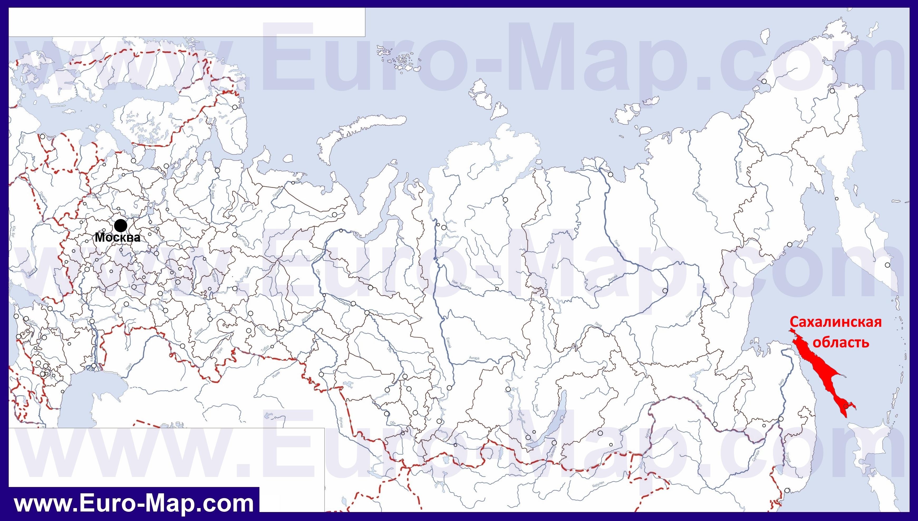 Карту Острова Русский