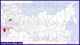 Ставропольский край на карте России