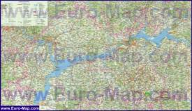 Подробная карта республики Татарстан