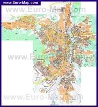 Подробная карта города Пенза