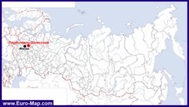 Переславль-Залесский на карте России