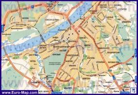 Карта города Пермь