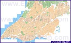 Подробная карта города Самара