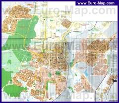 Подробная карта города Саранск