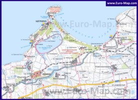 Карта Щелкино с окрестностями